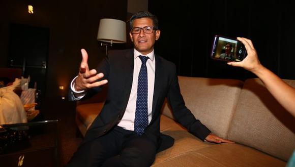 Erick Osores, feliz luego que América TV adquirió los derechos de los partidos de la Eurocopa y la Copa América. (Foto: USI)