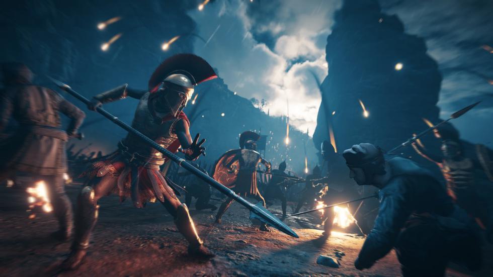 La historia que nos ofrece Assassin's Creed Odyssey partirá desde el enfretamiento de Leónidas y el ejército pera.