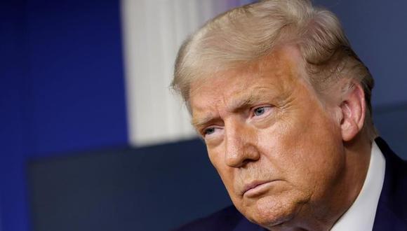 EE.UU.: Gobierno de Donald Trump defenderá su prohibición de TikTok. (EFE/EPA/Yuri Gripas).