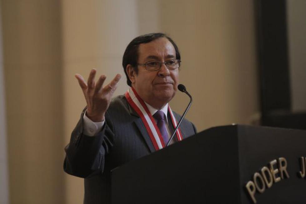 Víctor Prado Saldarriaga fue elegido presidente del Poder Judicial, tras la renuncia de Duberlí Rodríguez. (Perú21)