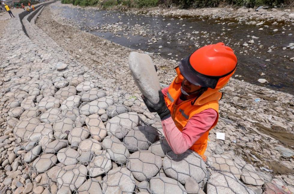 La Municipalidad de Lima culminó con los trabajos de limpieza limpieza y descolmatación de las cuencas de los ríos Rímac, Lurín y Chillón en 15 distintos tramos. (Foto: Municipalidad de Lima)