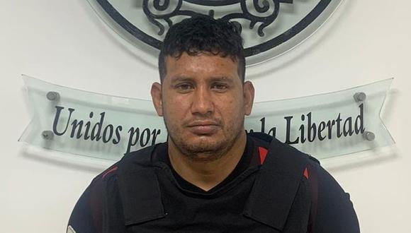 Edinson Jesús Zarraga Martínez (29) fue capturado en flagrante delito en un hostal. (Foto: PNP)