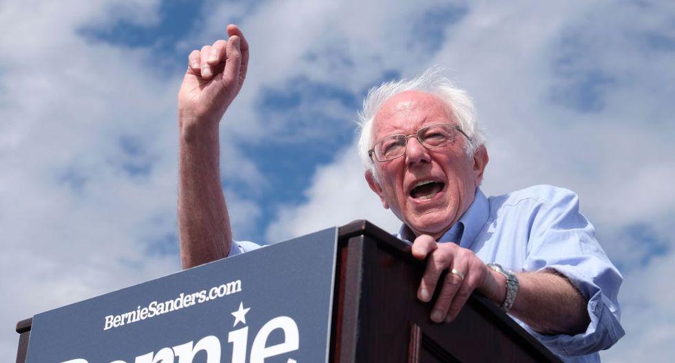 El senador Bernie Sanders llega como favorito en Nevada. (Reuters).