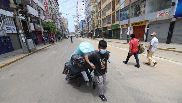 El número de personas contagiadas subió este lunes. (Foto: Eduardo Cavero / GEC)