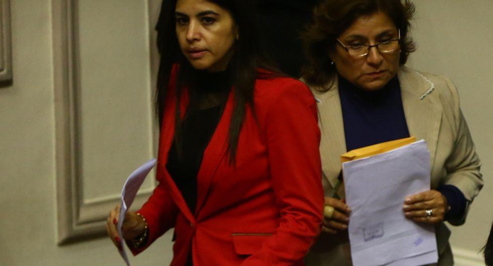 Ni siquiera la vicepresidenta Marisol Espinoza sabe cómo Malka Maya llegó a tener influencia en Palacio. (Rafael Cornejo)
