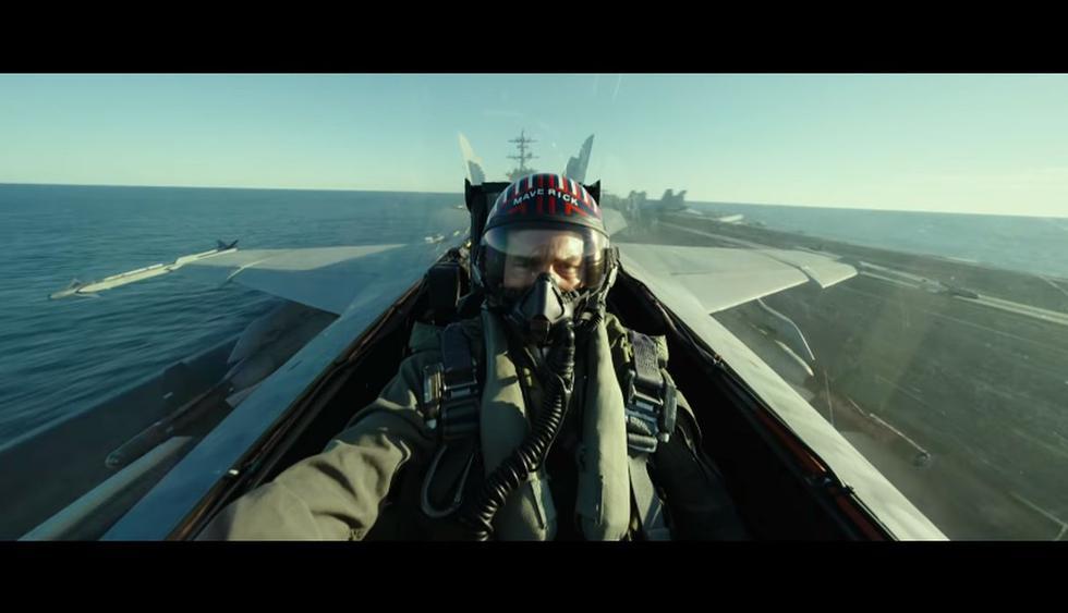 """Paramount Pictures estrenó el nuevo tráiler de """"Top Gun: Maverick"""", la película que protagoniza Tom Cruise. (Foto: Captura de video)"""