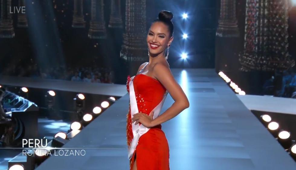 """Romina Lozano se mostró emocionada tras participar en la competencia preliminar del Miss Universo 2018. """"¡Ha sido increíble!"""", aseguró. (Foto: Captura de video)"""