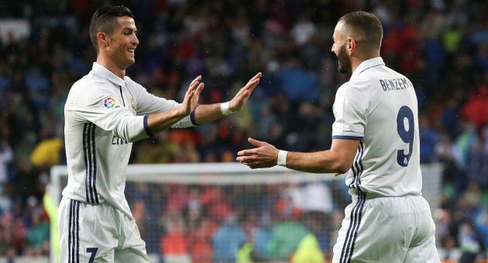 Real Madrid se impuso 4 a 1 ante Alavés con triplete de Cristiano Ronaldo. (Reuters)