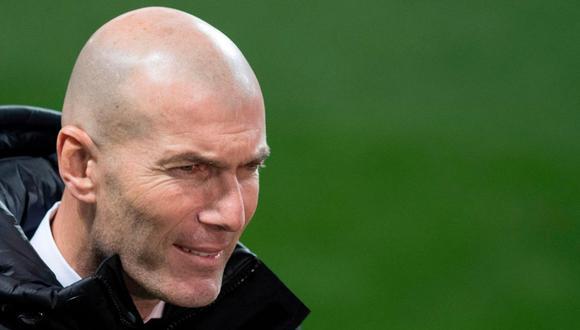 Zinedine Zidane también quedó eliminado de la Copa del Rey (Foto: AFP)