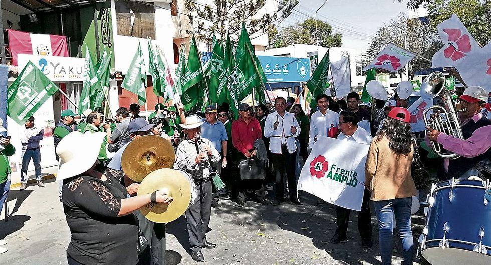Carrera al poder. En Arequipa se inscribieron 865 para ser alcaldes distritales y provinciales. (USI)