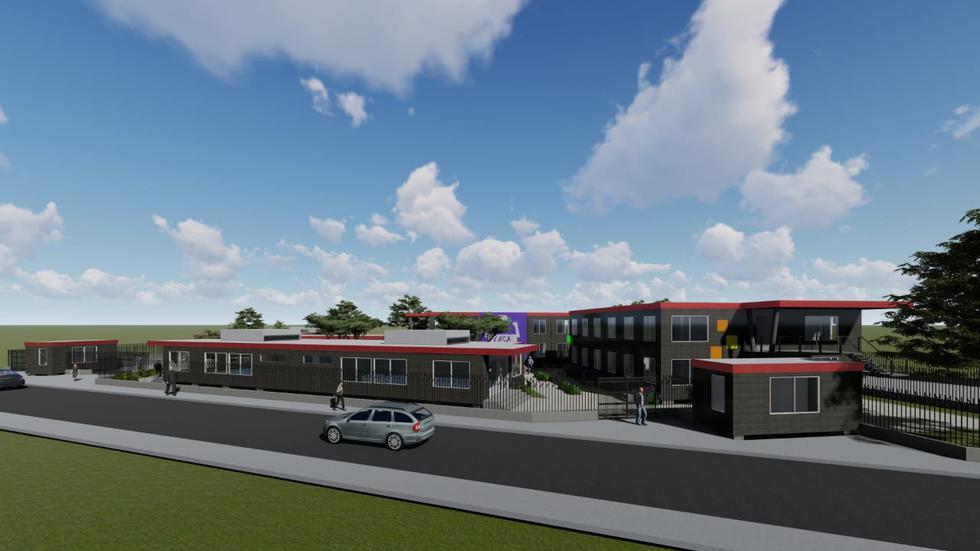 Moderno. Proyecto debe estar listo dentro de 45 días. Contará con una posta médica y áreas deportivas para albergados y vecinos. (Beneficencia de Lima)