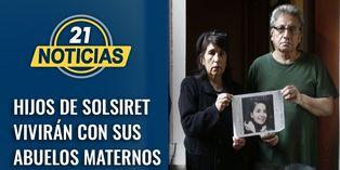 Hijos de Solsiret Rodríguez permanecerán con sus abuelos maternos