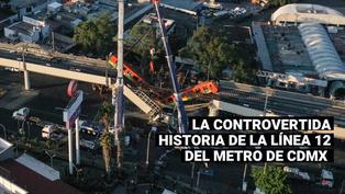Accidente en la línea 12 del metro en México: Conozca la controvertida historia de esta obra