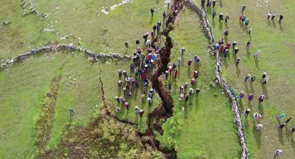 Falla tuvo una extensión de 12 kilómetros. (ABC NOticias . ICA)