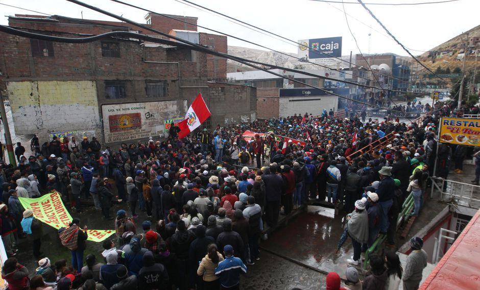 El paro se realizará pese a que el gobierno declaró ilegal esta acción, aseguró la CTP. (Foto: GEC)