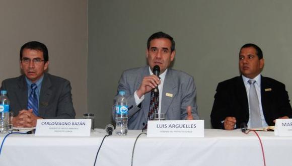 EN MARCHA. Directivos de Yanacocha reiteraron beneficios de este proyecto minero. (Andina)