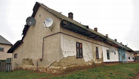 la casa del horror. Pareja vivía con sus tres hijos en Szigetszentmiklós, al sur de Budapest. (Oroszi Bea)