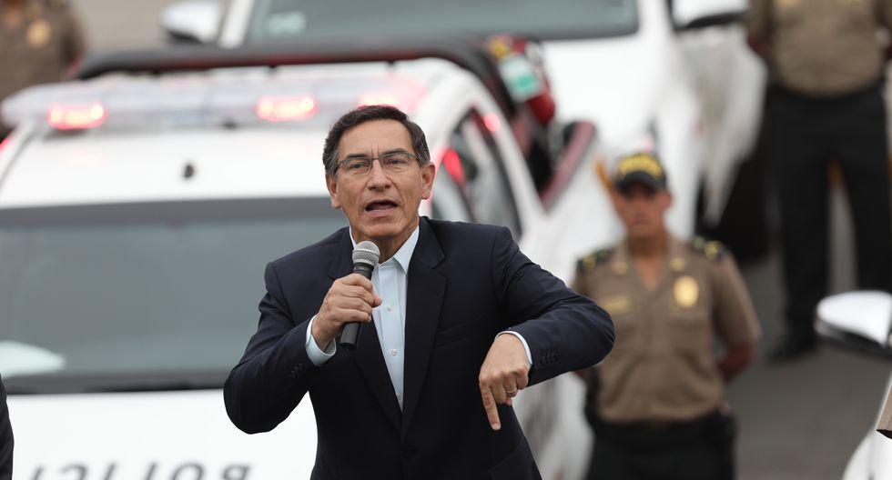 Martín Vizcarra condenó el feminicidio en El Agustino. (Anthony Niño de Guzmán/GEC)
