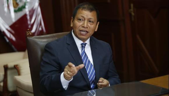 Daniel Maurate, ministro de Trabajo. (César Fajardo)