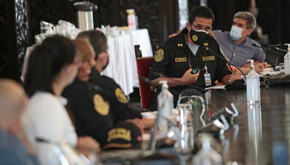El viceministro de Seguridad Pública, Nicolás Zevallos, indicó que este plan nace con un presupuesto de 350 millones de soles para que su ejecución sea desde este año con miras al 2030. (Foto: Mininter)