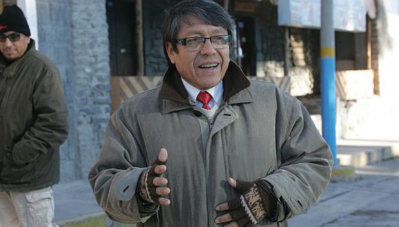 Ciro Castillo Rojo se lanza a la presidencia regional del Callao. (Heiner Aparicio)