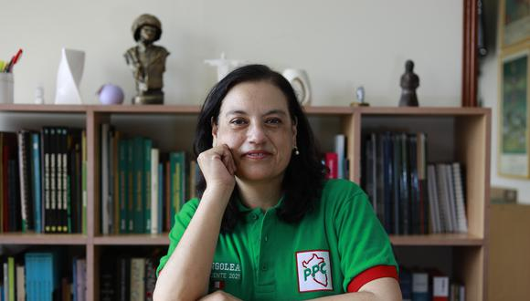 Lucía Ledesma es candidata a la vicepresidencia por el PPC. (Foto: Jessica Vicente/GEC)