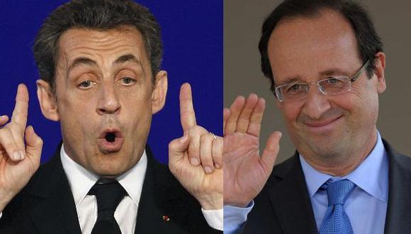 Sarkozy y Hollande van a la segunda vuelta el 6 de mayo. (Reuters)