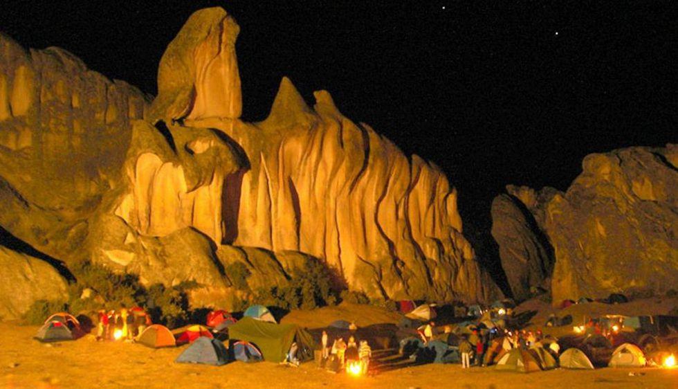 Marcahuasi tiene un bosque de piedras perfecto para acampar. (USI)