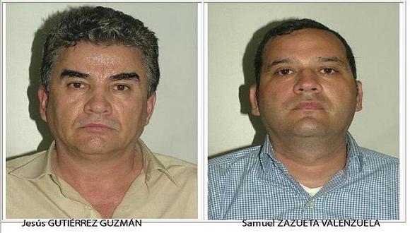 Clan de 'El Chapo'. La Policía difundió las fotos de los capturados. (Reuters)