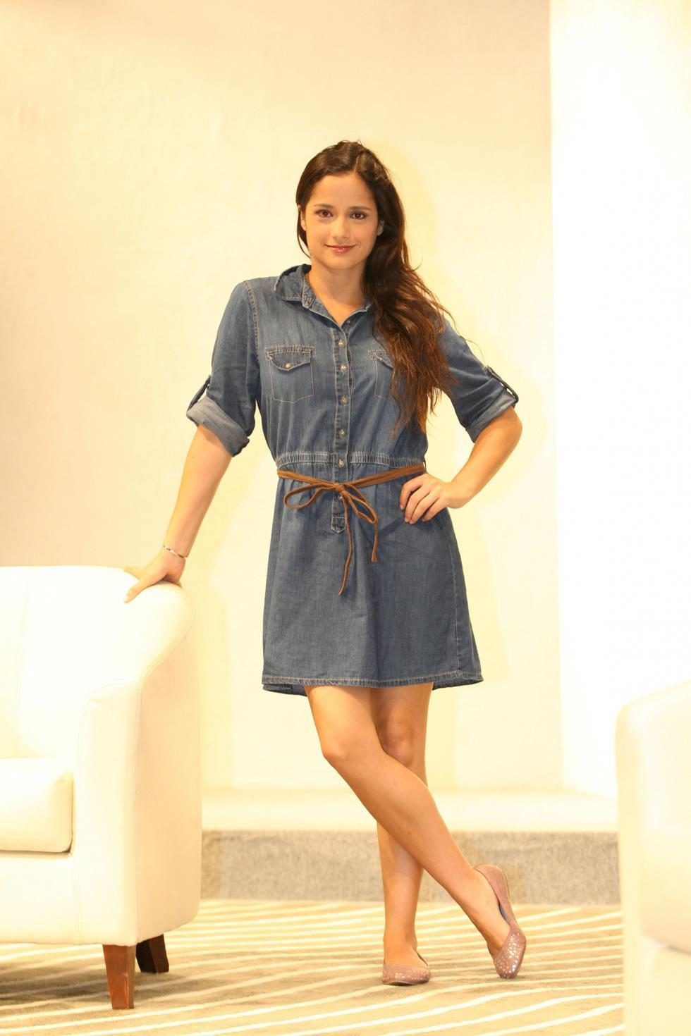 Melania Urbina asegura que es una actriz que disfruta de sus personajes. (USI)