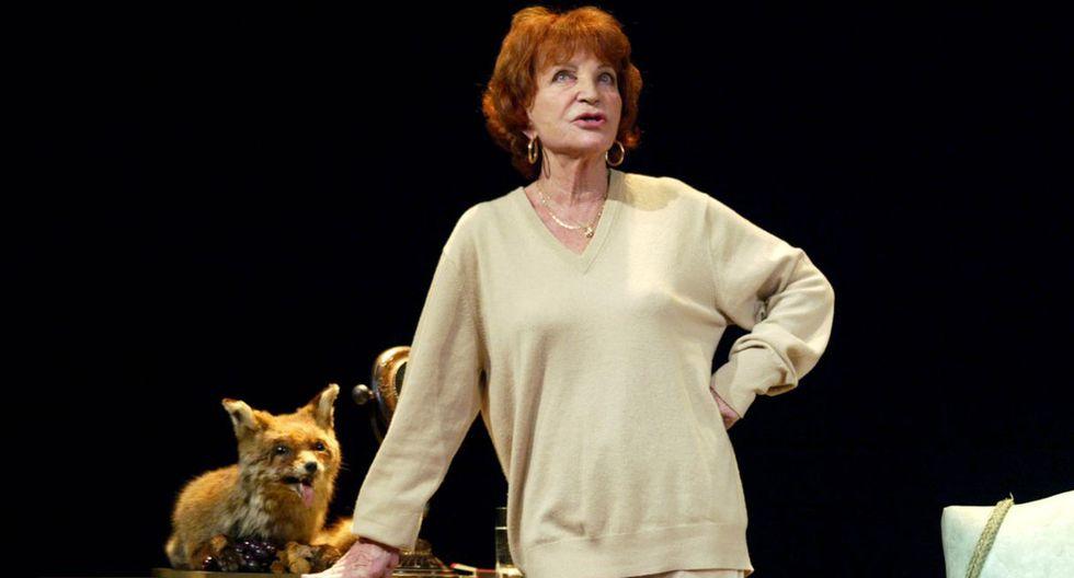 La actriz María Pacôme falleció a los 95 años en Francia. (Foto: AFP)