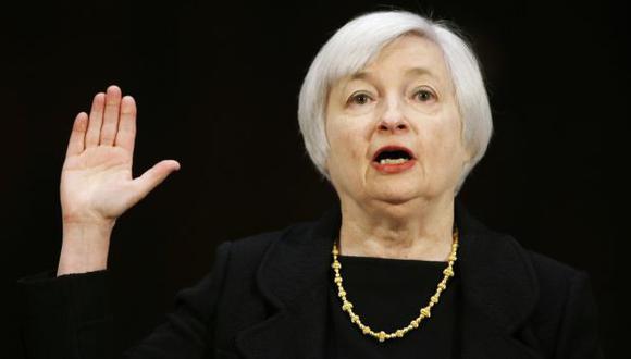 Senado de EEUU confirmó a Janet Yellen como la nueva presidenta de la FED. (Reuters)