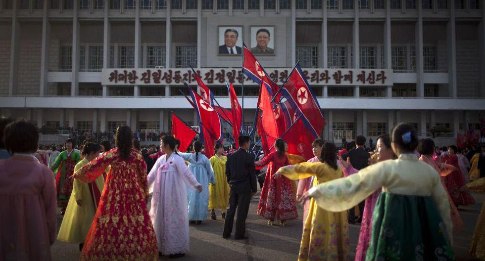 En contraste a semanas de diatribas en contra de sus enemigos, la prensa estatal de Corea del Norte apenas mencionó el conflicto. (AP)