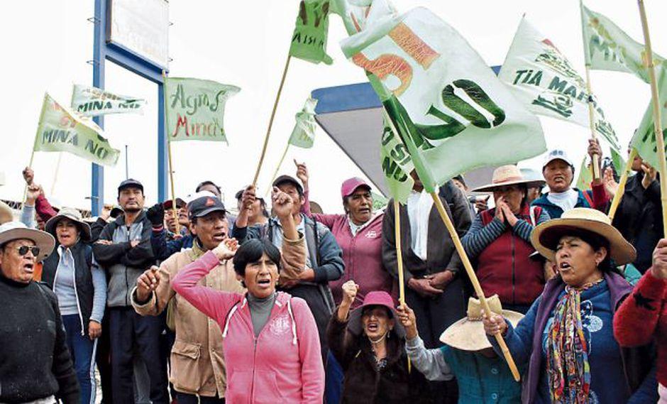 Protestas en islay