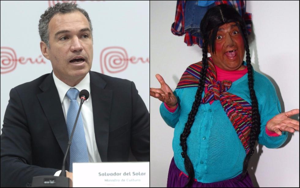 Salvador del Solar volvió a calificar de denigrante a 'La Paisana Jacinta'. (Créditos: USI)