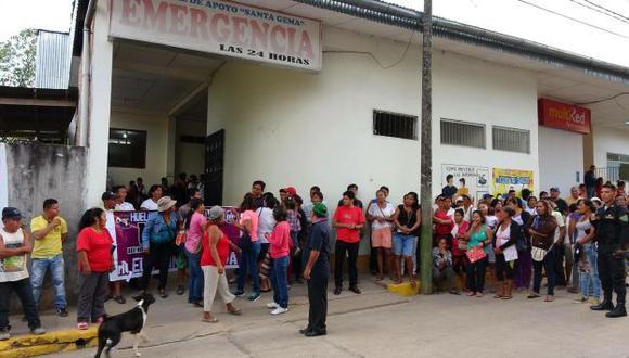 Huelga médica aún no cesa en cinco regiones del país. (USI)