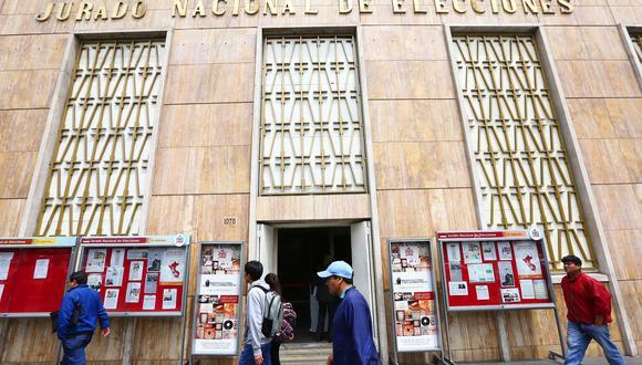 El Jurado Nacional de Elecciones solicitará la presencia formal de observadores internacionales. (Foto: JNE)