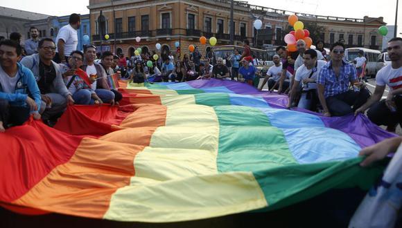 Así se vivió la marcha del Orgullo Gay en Lima. (Fotos: Roberto Cáceres y Luis Gonzales)
