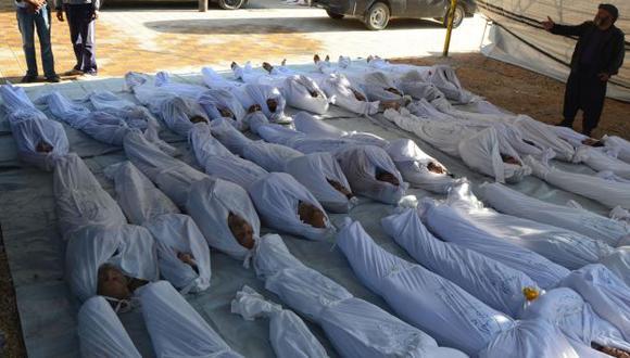 Los ataques con armas químicas dejaron 1,300 muertos. (Reuters)