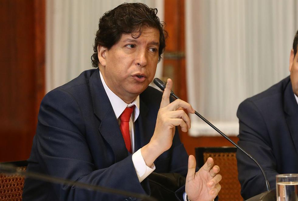 El consejero Iván Noguera acudió a la Comisión de Justicia para reiterar su inocencia. (Congreso de la República)
