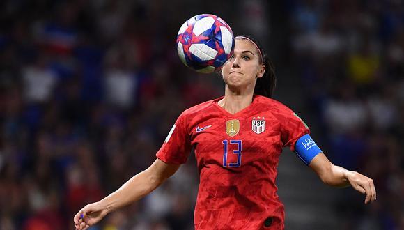 Estados Unidos enfrenta Holanda por la final del Mundial Femenino Francia 2018. (Foto: AFP)