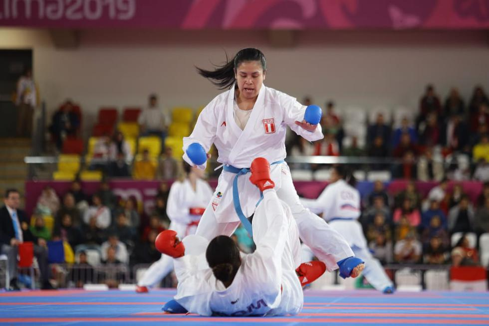 Juegos Panamericanos Lima 2019 Karate Kumite: Isabel Mallory Aco va por la medalla de oro (JesúsSaucedo/GEC)