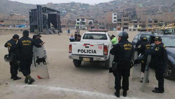 El Ministerio de Cultura señaló que el evento no tenía el permiso de las autoridades. (Facebook)