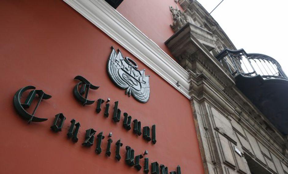 El Congreso convocó para el próximo lunes 30 de setiembre a sesión para elegir a los nuevos miembros del TC. (Foto: GEC)