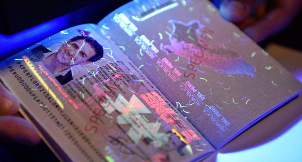 Pasaportes electrónicos peruanos cuentan con microchip infalsificable