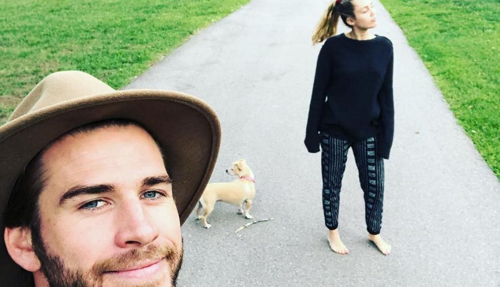 Solo dos mascotas han sido adoptadas por el actor (Instagram: @liamhemsworth).