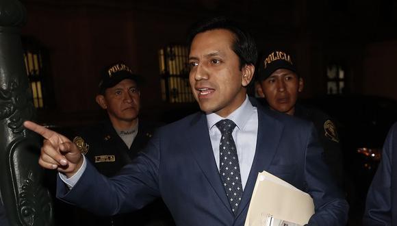 Gilbert Violeta había dejado la vocería de la bancada Peruanos por el Kambio luego de las renuncias de tres integrantes de dicho grupo parlamentario. (Foto: USI)