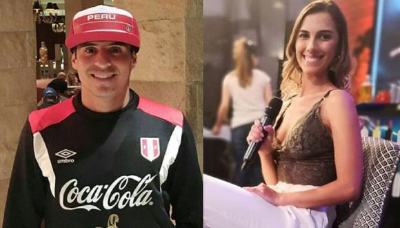 Manuela Camacho y Aldo Corzo coquetearon hace meses.  (Instagram)
