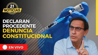 Comisión declara procedente denuncia constitucional contra Martín Vizcarra