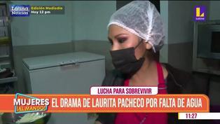 """Laurita Pacheco preocupada por el corte de agua en SJL: """"Espero que esto pase pronto"""""""